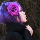 NARUTO Konan short purple anime cosplay wig