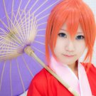 GINTAMA silver soul Kagura orange anime cosplay wig