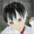 Tokyo Ghoul:re Kaneki Ken short black white anime cosplay wig