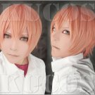 ten count 10 count short light pink anime cosplay wig
