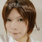 Axis powers hetalia APH Italy Feliciano Vargas short red brown anime cosplay full wig