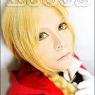 Fullmetal Alchemist Edward Elric long 65cm braid gold anime cosplay full wig