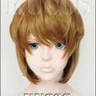 Detective Conan Case Closed Haibara Ai short brown mix  anime Cosplay wig