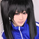 Kagerou Project ENOMOTO TAKANE black ponytails cosplay wig