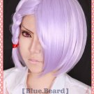 valvrave A·DREI short light purple cosplay wig + free wig cap