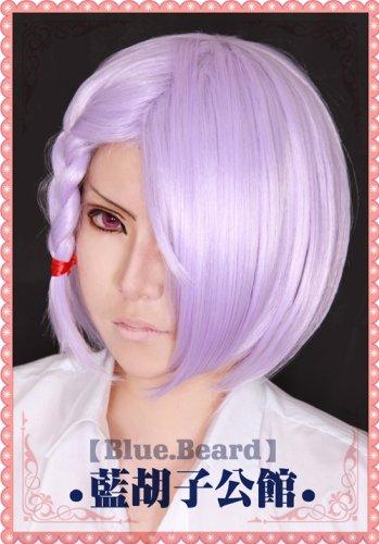 valvrave A·DREI short light purple cosplay wig + free wig cap