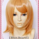 Attack on Titan Petra Rall short mix orange cosplay wig + free gift