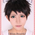 free! SosukeYamazaki short black brown anime cosplay full wig
