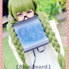 Kuroko's Basketball Midorima Shintaro Sexual Turn Long Olive Green Cosplay Party Full Wig
