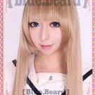 Axis powers APH Natalia Alfroskaya long 100cm tea brown cosplay wig