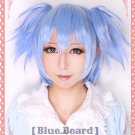 Assassination Classroom Ansatsu Kyoshitsu Nagisa Shioda ice blue cosplsy wig
