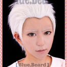 Fate/Extra fate stay night Archer Shirou Emiya short white anime cosplay wig