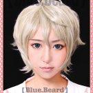 Aldnoah Zero SLAINE TROYARD short anime cosplay wig