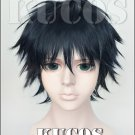 Ao Haru Ride Mabuchi Kou short black blue anime cosplay wig