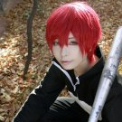 Assassination Classroom Akabane Karuma short red anime cosplay wig