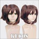 Sora no Method Komiya Nonoka brown anime cosplay wig