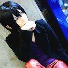 DuRaRaRa!! Heiwajima Kasuka short black anime cosplay wig + wig cap