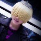Katekyo Hitman Reborn Belufuegolu short gold blonde anime cosplay wig