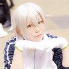 Furari no ken Hotarumaru short sivler white cosplay wig
