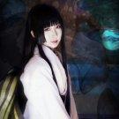 RESERVoir CHRoNiCLE Ichihara Yuuko long 150cm black straight cosplay wig
