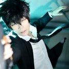PSYCHO-PASS Kogami Shinya short black cosplay wig
