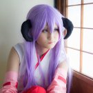 When They Cry Furude Hanyuu long straight 100cm purple cosplay wig