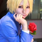 Ouran High School Host Club La Parure King short gold blonde cosplay wig