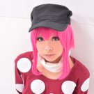 KILL la KILL jyakuzure nonon rose red short cosplay wig