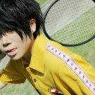 The Prince of Tennis Akaya Kirihara short black cosplay wig