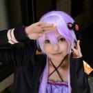 VOCALOID Yuzuki Yukari short purple cosplay wig
