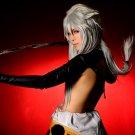 Furari no ken Kogitsunemaru long straight silver white 100cm cosplay wig