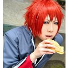Hiiro no Kakera Takuma Onizaki short red anime cosplay wig
