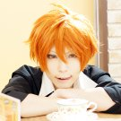 Free! Mikoshiba Momotaro short orange anime cosplay wig