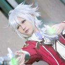 Eiyuu Densetsu: Sen no Kiseki Fie Claussell short white cosplay wig