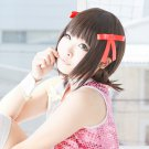 THE IDOLM@STER amami haruka short brown anime cosplay wig
