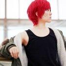 Keroro Gunsou Giroro -Sgt. Frog short red anime cosplay wig