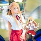 Himouto! Umaru-chan Doma Umaru orange 100cm anime cosplay wig