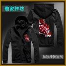 ONE PUNCH-MAN Genos winter anime cosplay costume zipper hoodie coat sweatshirt cardigan
