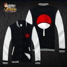 Naruto Uchiha Sasuke anime cosplay Baseball clothes uniform sport suit hoodie