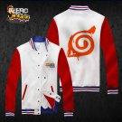 Naruto konoha anime cosplay Baseball clothes uniform sport suit hoodie