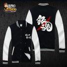 GINTAMA Silver Soul Sakata Gintoki Anime Cosplay hoodie unisex sport suit Baseball uniform coat