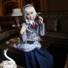 Anna Nishikinomiya anime cosplay costume school uniform