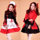 Chinese dancer lolita dresses cosplay maid outfits Maid Apron Dress meidofuku maid uniform