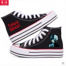 Tokyo Ghoul Kirishima Touka Ken Kaneki anime cosplay shoes canvas shoes cosplay pantshoes black A