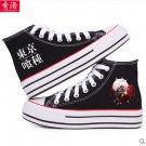 Tokyo Ghoul Kirishima Touka Ken Kaneki anime cosplay shoes canvas shoes cosplay pantshoes black C2