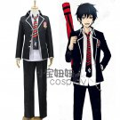 Ao no Exorcist Okumura Rin Okumura Yukio anime cosplay costume uniform clothes
