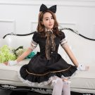 Japanese Princess Lolita skirt cosplay maid outfits Apron Dress meidofuku coffee house maid uniform