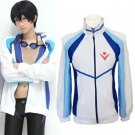 Free Haruka Nanase anime cosplay costume coat sportwear Iwatobi high school uniform