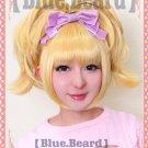 Osomatsu-San Jushimatsu Matsuno women ver golden anime cosplay wig