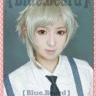 Bungo Stray Dogs Nakajima Atsushi short flaxen mix grey anime cosplay wig